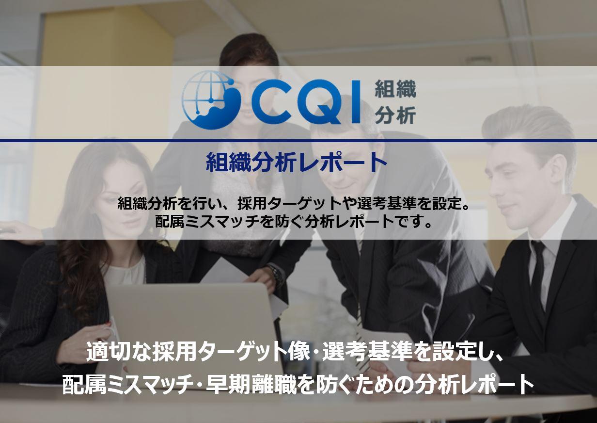 CQI組織分析