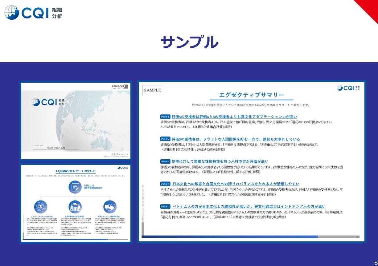 CQI(グローバル採用適正検査)