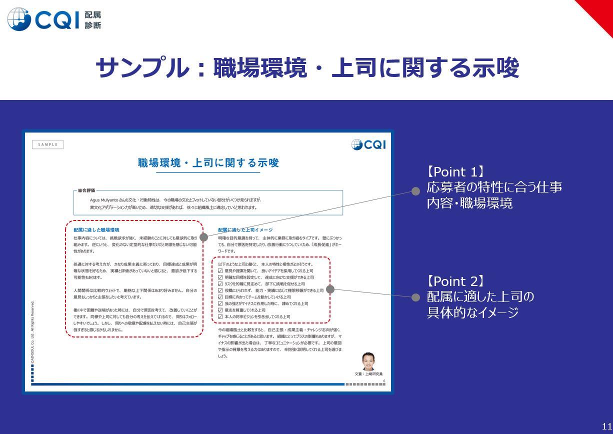 CQI(組織分析)